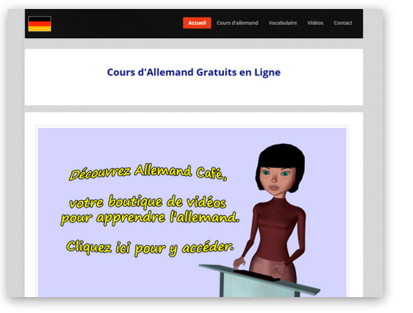 cours d allemand gratuit en ligne. Black Bedroom Furniture Sets. Home Design Ideas